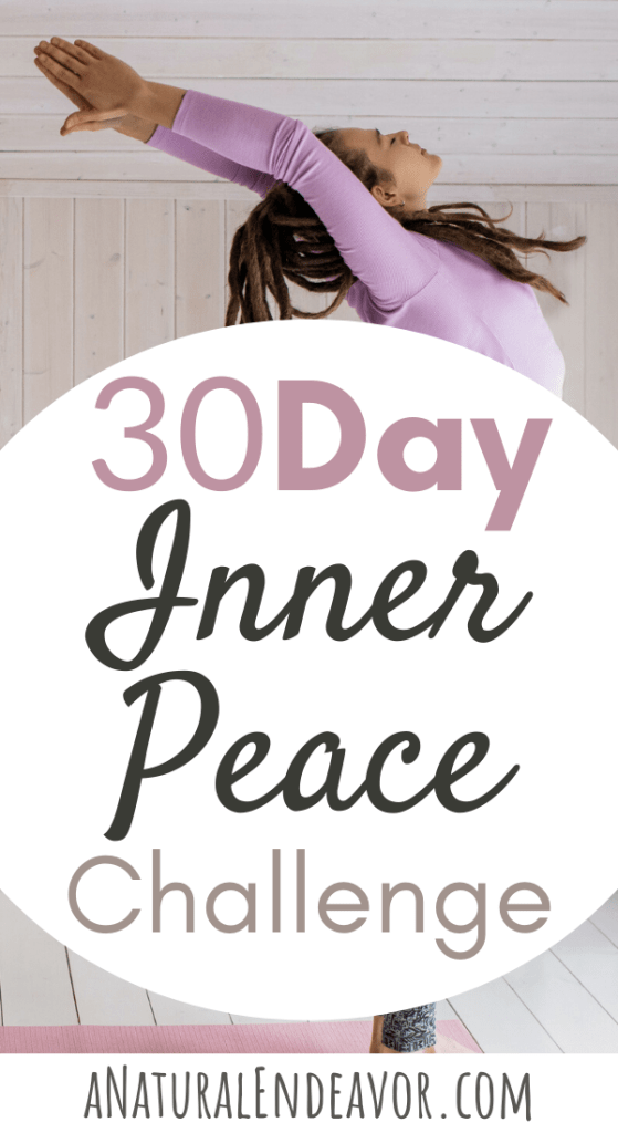 30 Days to Inner peace, self discovery, mindfulness challenge