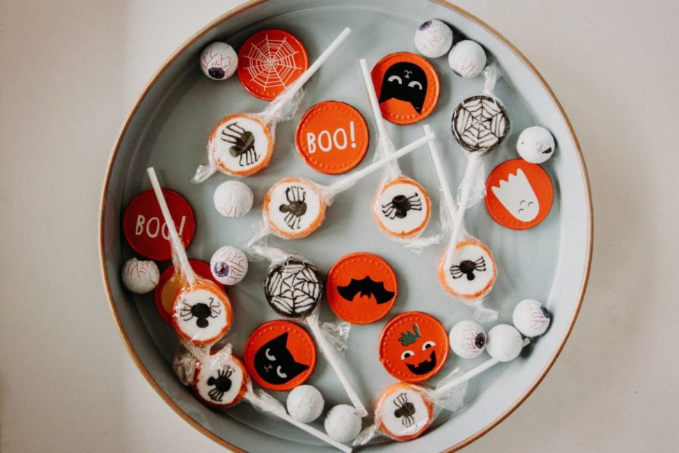 Happy Halloween Candy Bowl