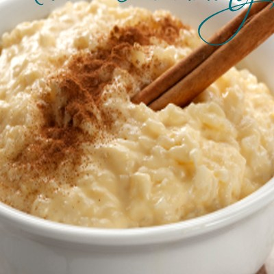 Cooking with Essential Oils : Rice Pudding