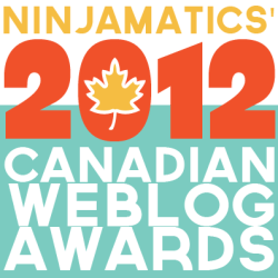 We're nominated for the 2012 Canadian Weblog Awards
