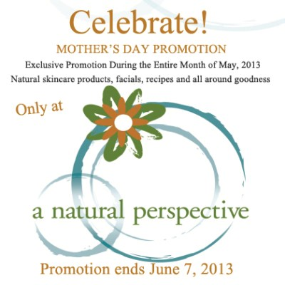 Mother's Day Promotion, all month long!
