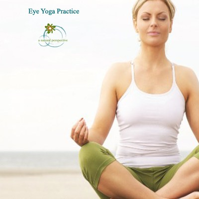 Eye Yoga Practice and Lavender Essential Oil