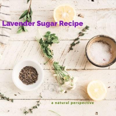Make Lavender Sugar