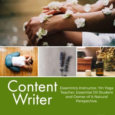 Health, Fitness & Wellness Content Writer