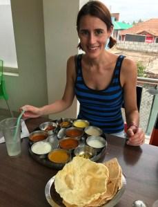 Southern Indian food Thali