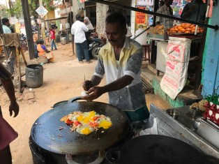 Indian food Kottu Parotta