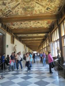 In the Uffizi