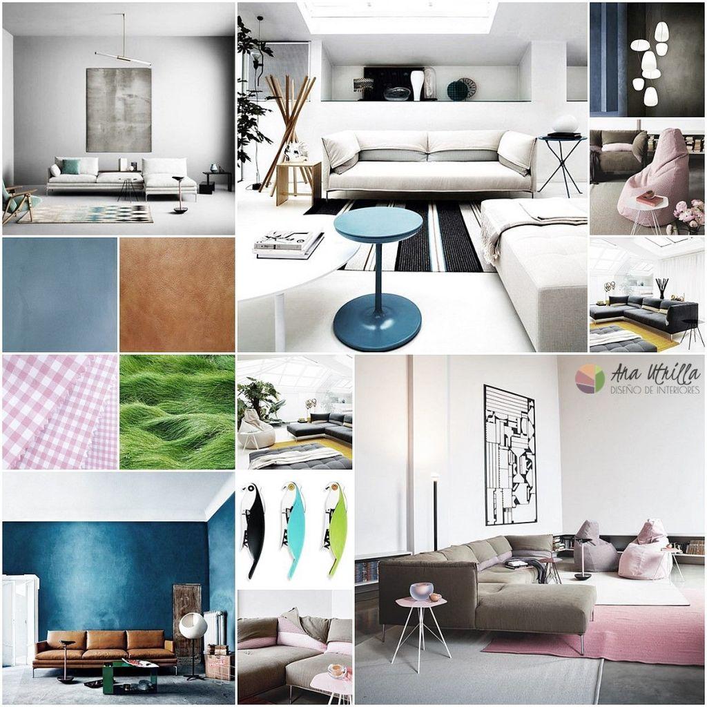 Proyecto de diseño de interiores escaparate de muebles Zanotta por Ana Utrilla
