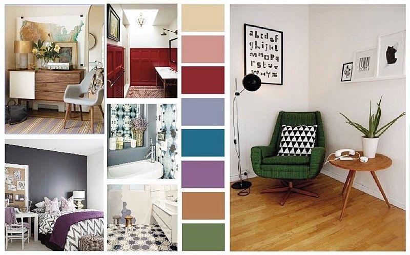 Colores pantone 2015 en decoración de interiores por Ana Utrillla