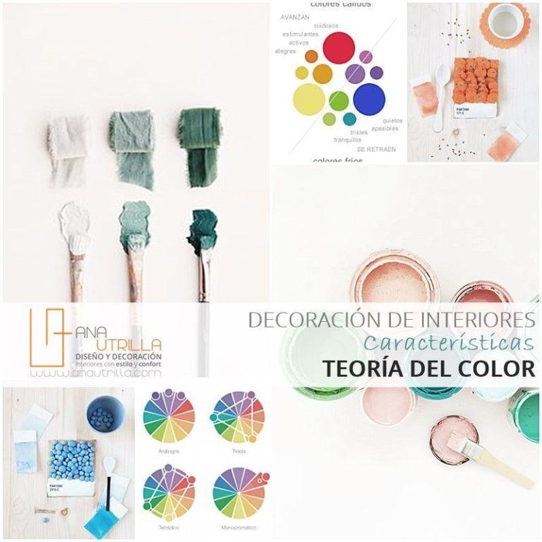 color en diseño y decoración de interiores por Ana Utrilla DIseño de Inteiriores