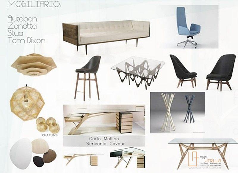 Mobiliario escogido para interiorismo de perfumería en Valladolid por Ana Utrilla