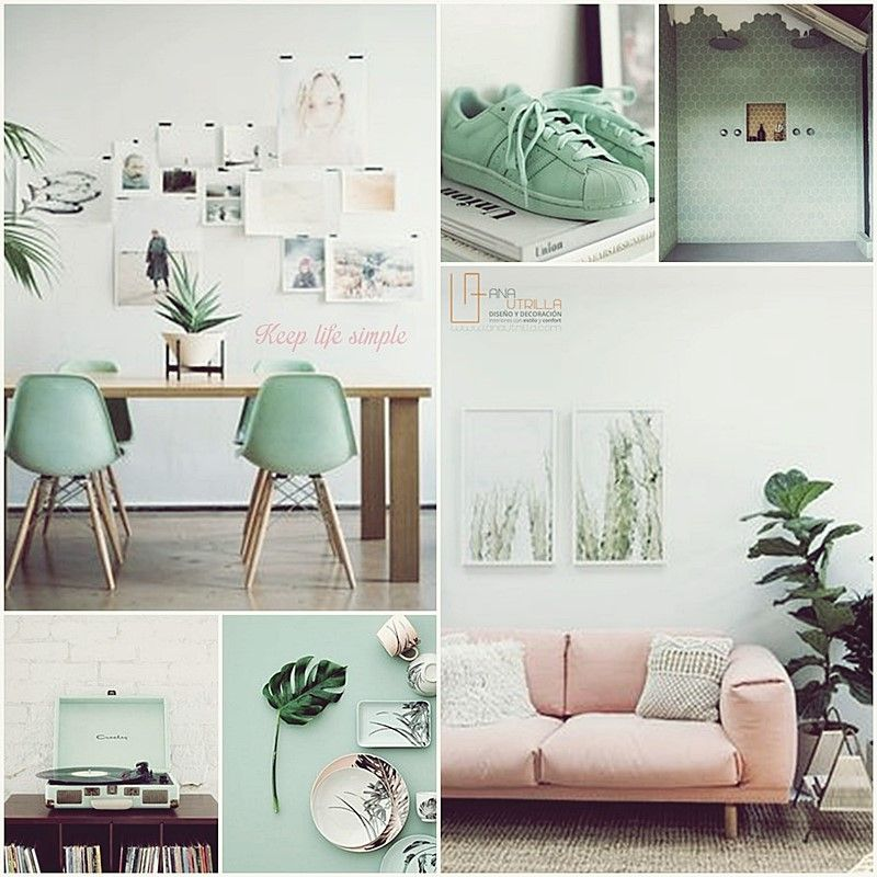 Decoración de interiores de estilo tropical 2016 por Ana Utrilla