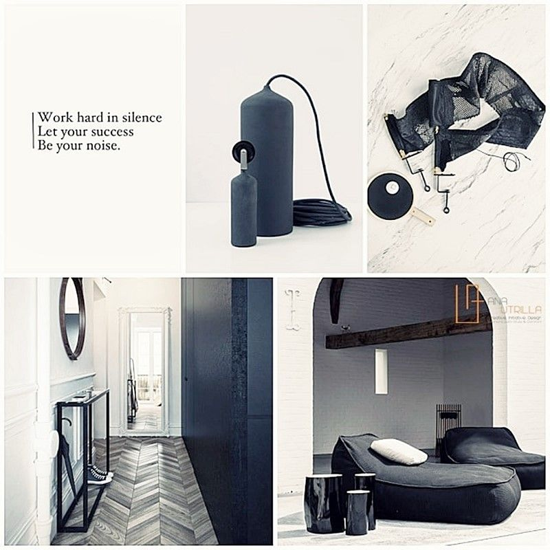 Decoración de interiores estilo masculino sofisticado y elegante por Ana Utrilla