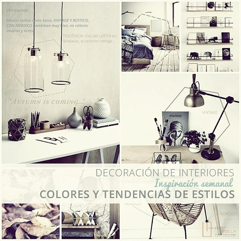 Decorar con color y tendencia de estilos por Ana Utrilla