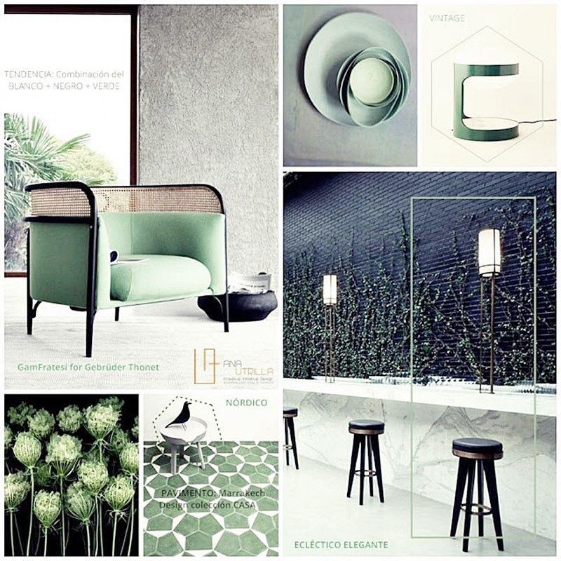 Decoración de interiores elegante y sofisticado combinando colores y estilos