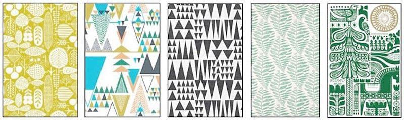 Estampados de estilo nórdico o escandinavo para decorar tu espacio u hogar