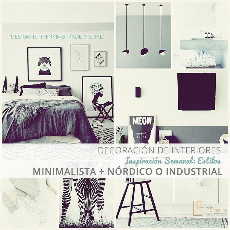 Decoraci n de interiores con estilos n rdico o industrial for Decoracion interiores online