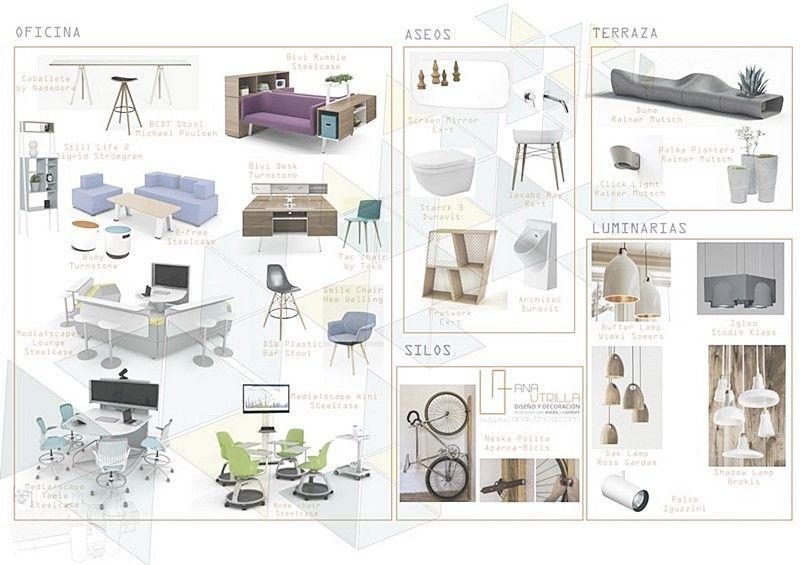 Mobiliario de estilo nórdico industrial, funcionalidad escandinava por Ana Utrilla