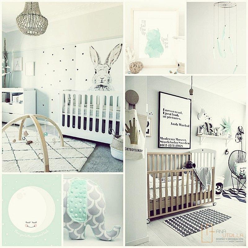 Decoración de interiores de habitaciones infantiles y de bebé por Ana Utrilla