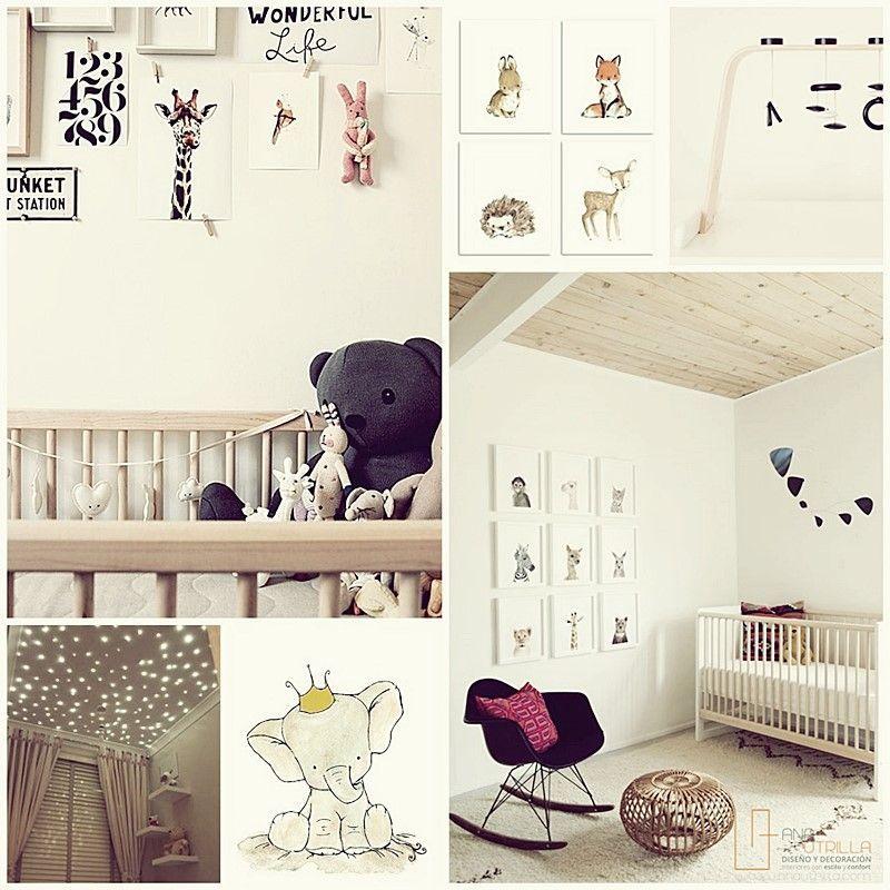 Cómo decorar la habitación de tu bebé, consejos e inspiración por Ana Utrilla