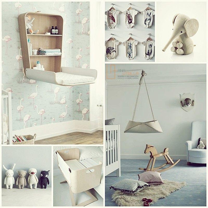 Decoración de interiores de habitaciones infantiles y para bebé por Ana Utrilla Diseño de Interiores