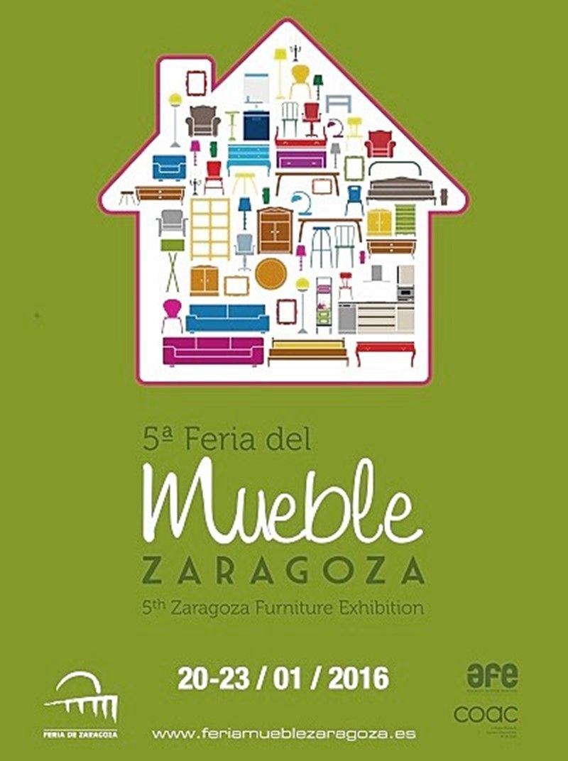 Guía mobiliario feria del mueble Zaragoza 2016 por Ana Utrilla Diseño de Interiores