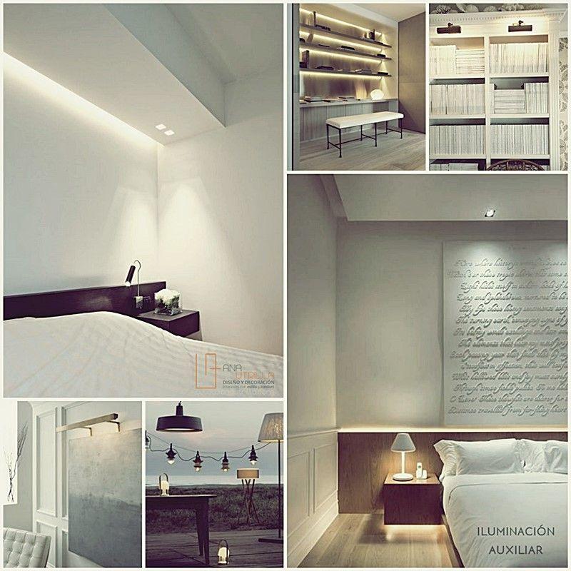 Espacios bien iluminados sinónimo de amplitud por Ana Utrilla Diseño de Interiores Online