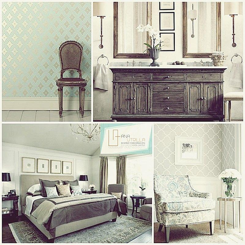 Estilo cl sico en decoraci n de interiores dise o de for Estilo eclectico diseno de interiores