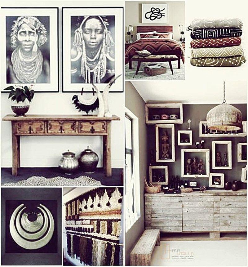 Decorar el hogar con estilo étnico por Ana Utrilla