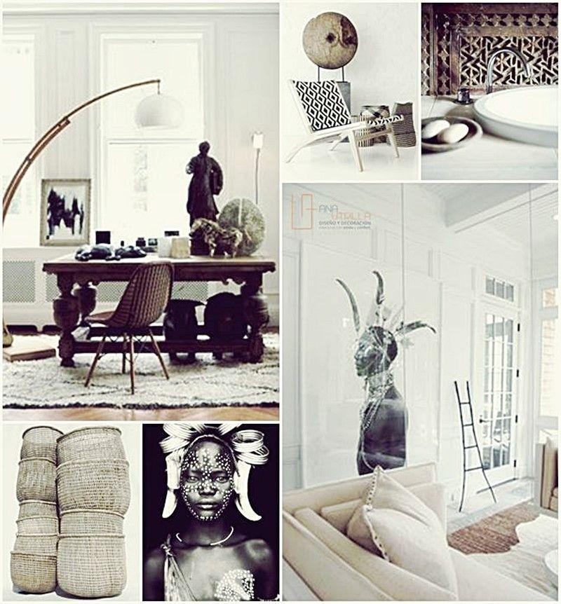espacios de estilo étnico para el hogar por Ana Utrilla
