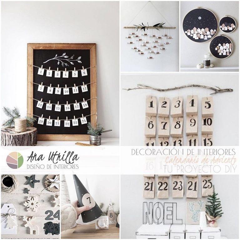 Calendario de Adviento DIY 2016 ideas para crear el tuyo de forma personalizada