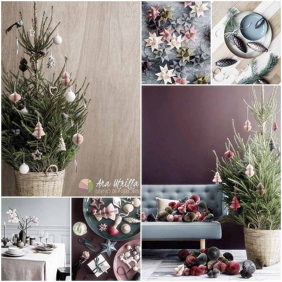 Tendencias navidad 2017 estilo escandinavo para la decoración de estas navidades