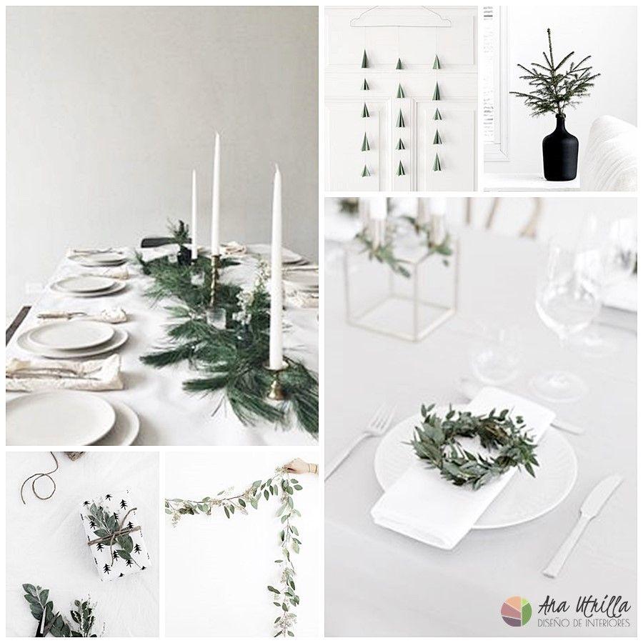 Decoración de Navidad ideas e inspiración de mesas y accesorios
