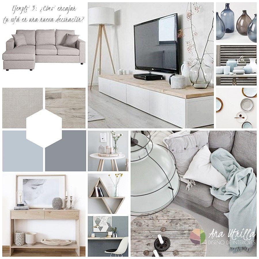 Cómo decorar interiores con estilo nórdico rústico, manteniendo tu mobiliario por Ana Utrilla