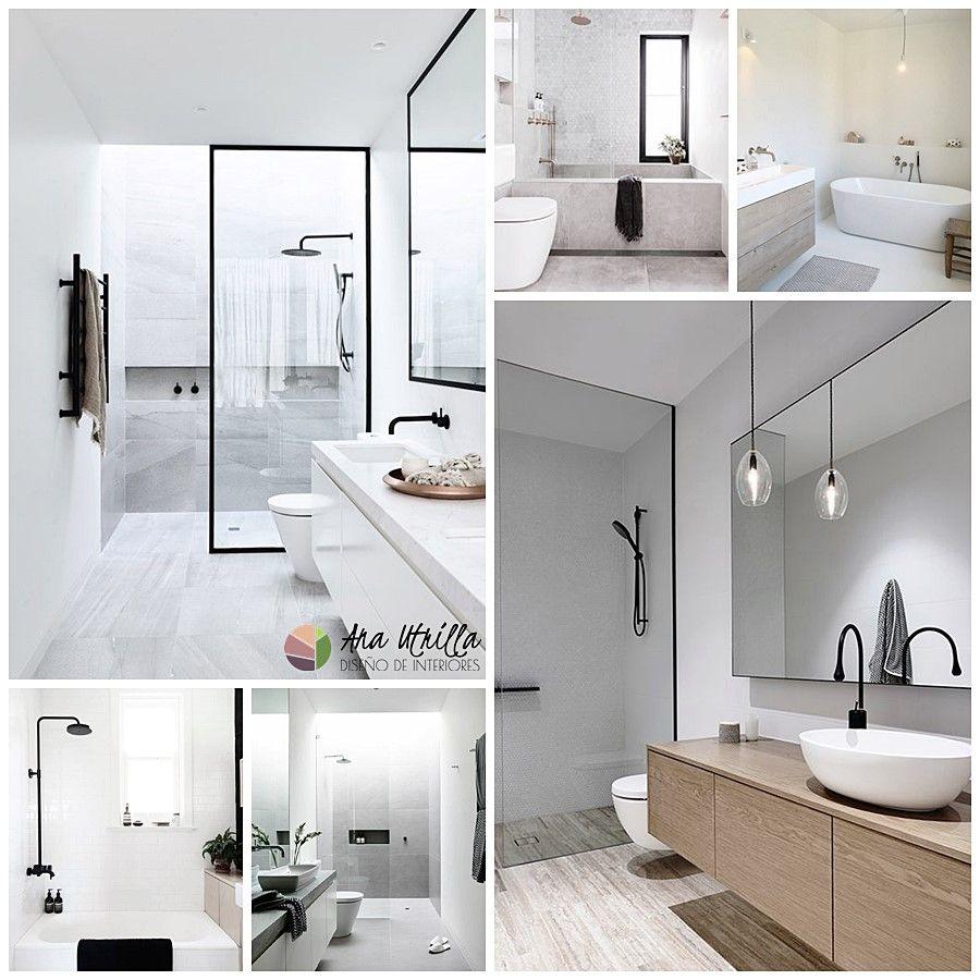 Cómo distribuir tu baño según su forma y tamaño por Ana Utrilla