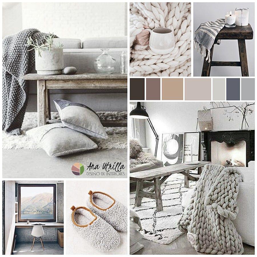 Tonos neutros para decorar tu casa hygge