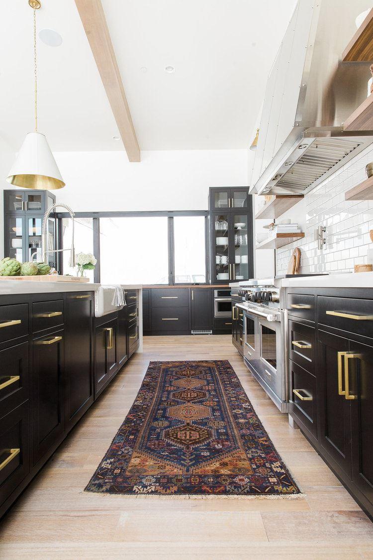 Cocina de frentes clásico moderno, decoración de estilo industrial chic