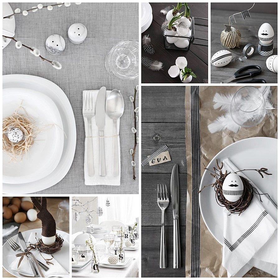 Decoración de mesas para Semana Santa, para Pascua
