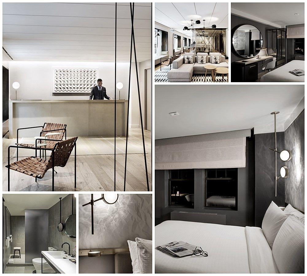 Hotel The Time New York de estilo minimalista vintage