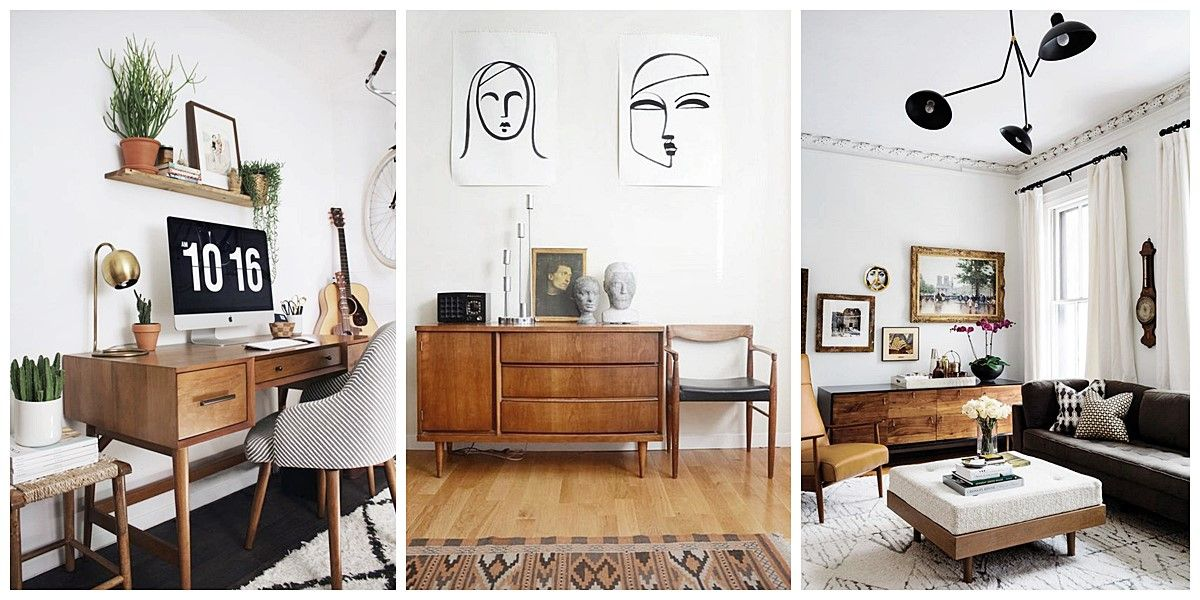 Espacios decorados con estilo Mid Century Moderno