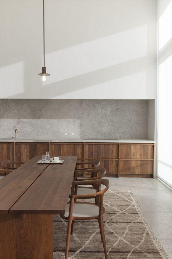 errores al disear una cocina cocina minimalista en madera