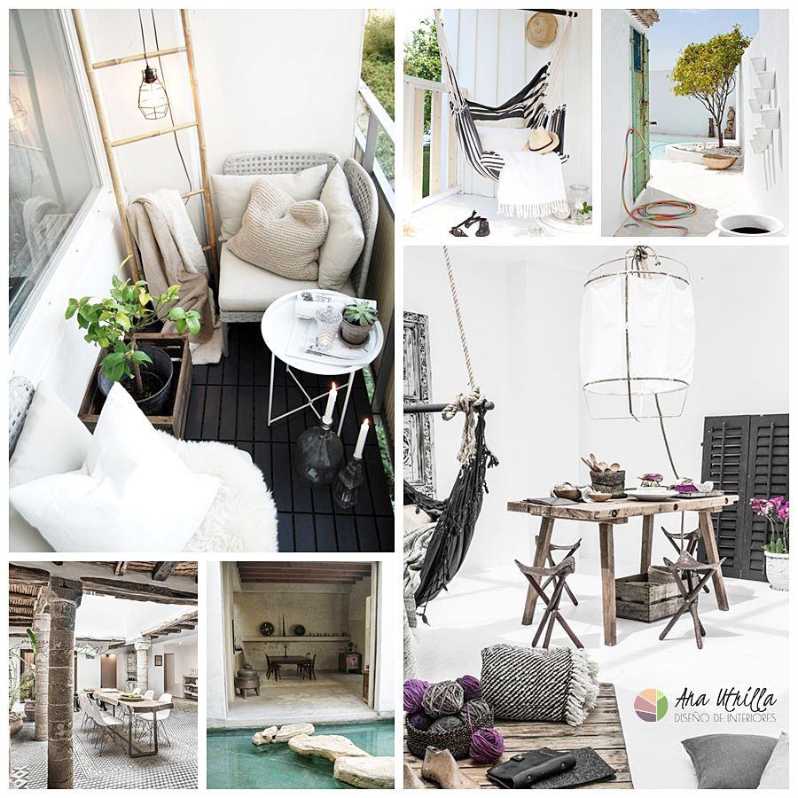 Tips para decorar tu terraza en verano, de estilo nordethnic