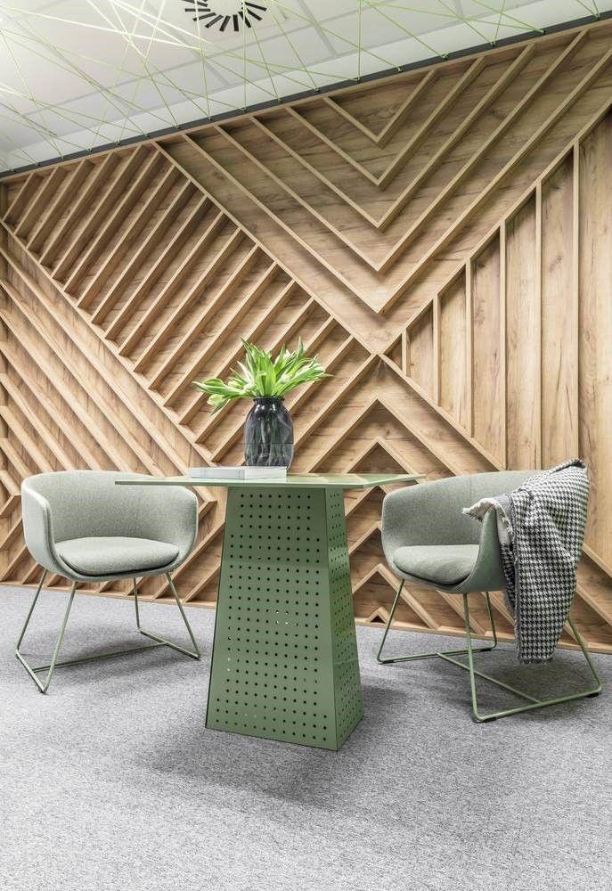 Sala de reuniones individualizada call center en Polonia por Metaforma