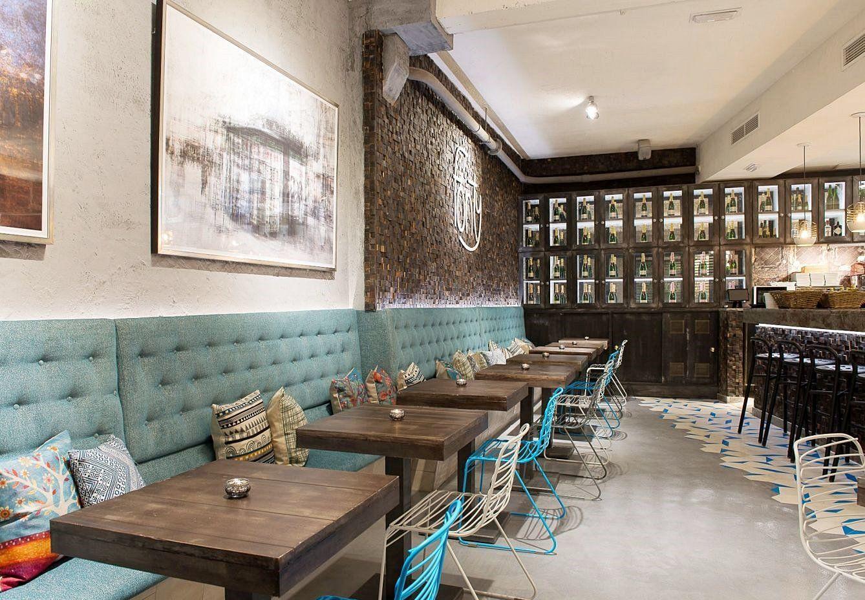 Restaurante Fonty Bistró en Madrid de estilo industrial chic