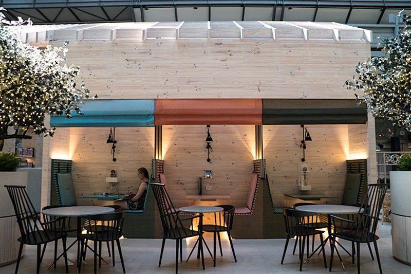 Restaurante-bar del hotel OVOLO HOTELS WOOLLOOMOOLOO @Utrillanais