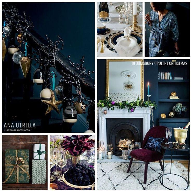 BLOOMSBURY CRHISTMAS Ideas e inspiración en decoración de Navidad, tendencias, consejos, tips @Utrillanais