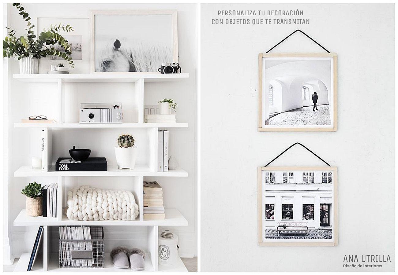Decora con accesorios que te aporten o transmitan buenos sensaciones, para completar tu decoración de interiores @Utrillanais