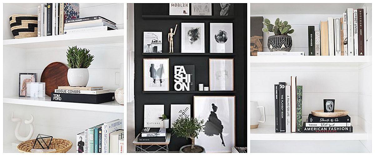 Ideas para decorar estanterías a tu gusto y estilo y completar la decoración de tu hogar @Utrillanais