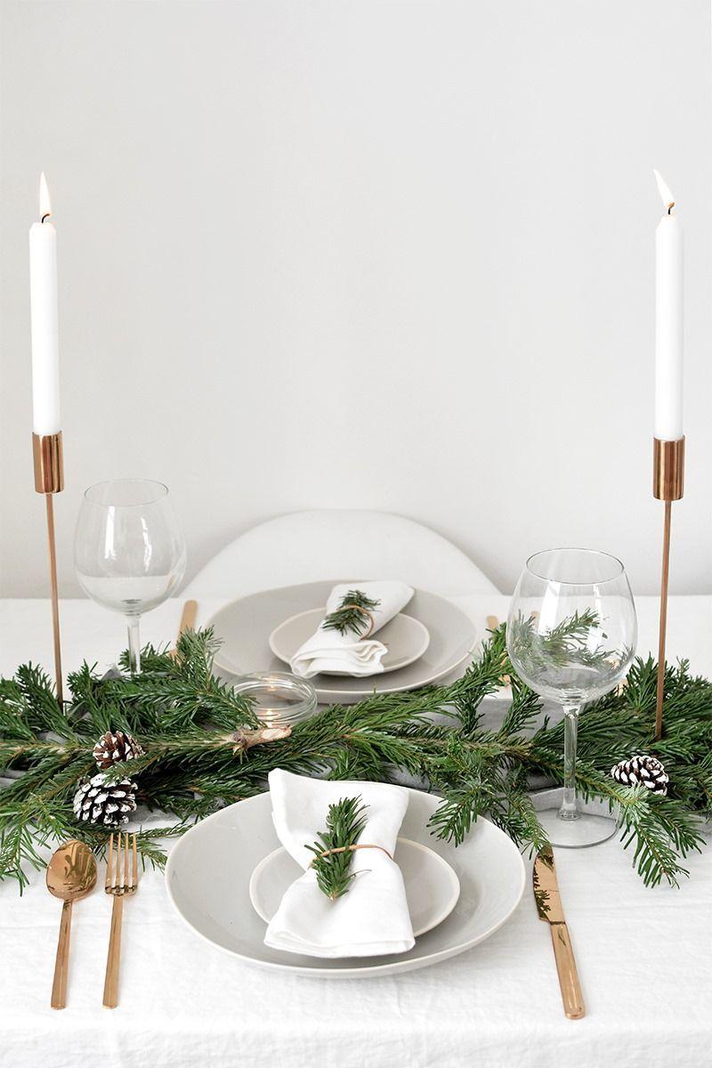 Añade altura a tu mesa, combina diferentes velas @Utrillanais