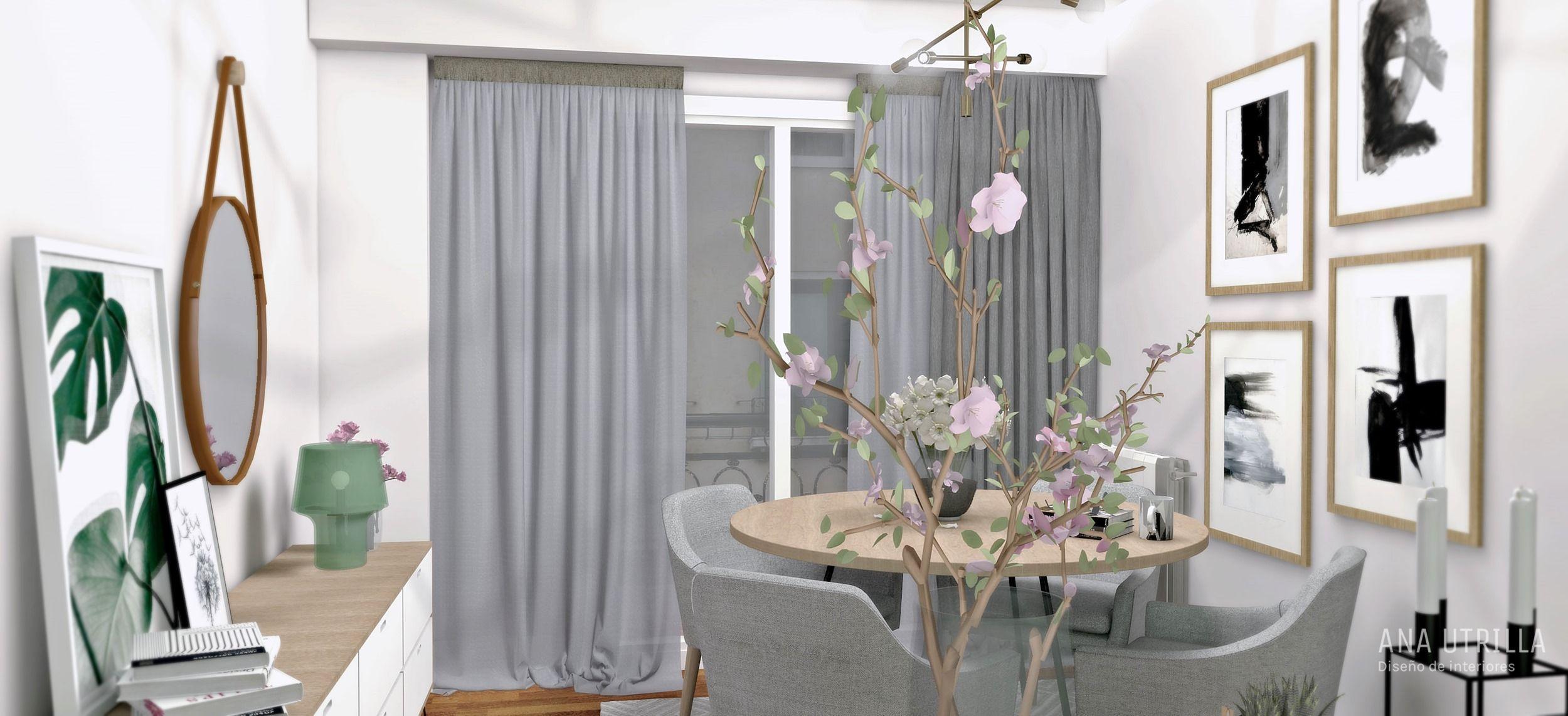 Proyecto de diseño de interiores online de vivienda en Ourense por Ana Utrilla